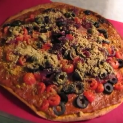 Sun Dried Pesto Pizza