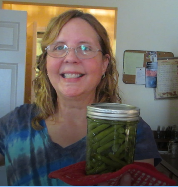 Mom's Canning Lesson 1:  Green Beans